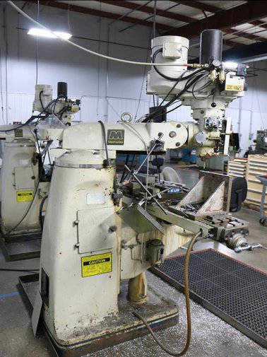 ACRA AM2V VERTICAL MILL,MFG:1999